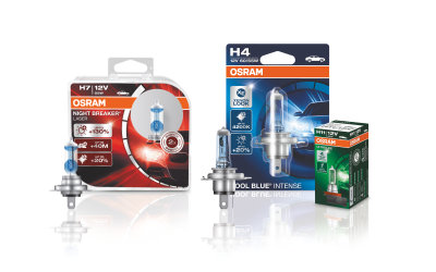 HALOGEN Headlights OSRAM