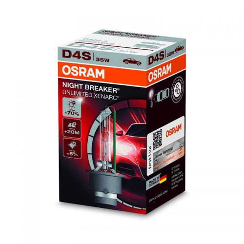 D4S Xenarc Night Breaker Unlimited +70% 66440XNB 35W P32D-5 4X1  FS1 by OSRAM