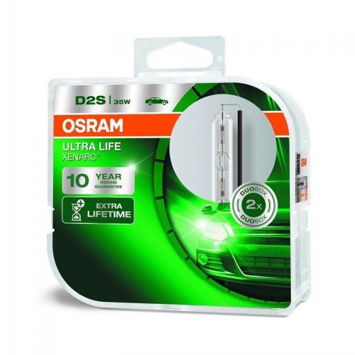 D2S Xenarc Ultra Life 66240ULT 35W P32D-2 Duobox by OSRAM
