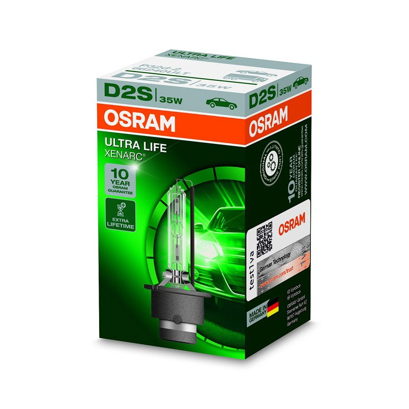 D2S Xenarc Ultra Life 66240ULT 35W P32D-2 FS1 by OSRAM