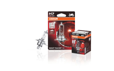 NIGHT RACER 50 - Motorcycle halogen headlight lamps