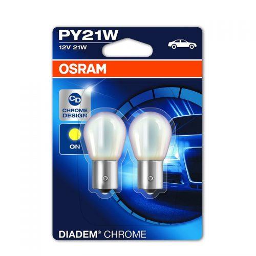PY21W  7507DC-02B 21W 12V BAU15S 10XBLI2  OSRAM by OSRAM