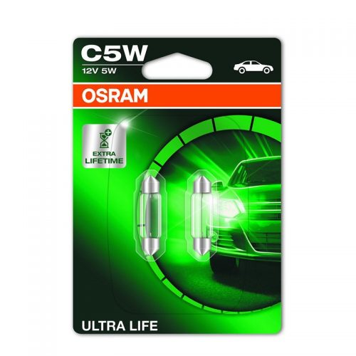 C5W  6418ULT-02B 5W 12V SV8.5-8 UNV1 by OSRAM