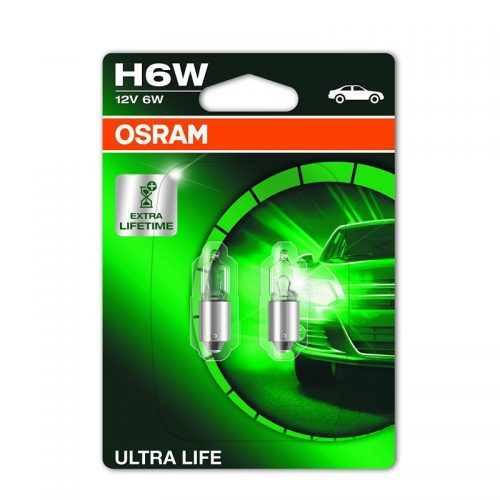 H6W  64132ULT 6W 12V BAX9S Duoblister by OSRAM