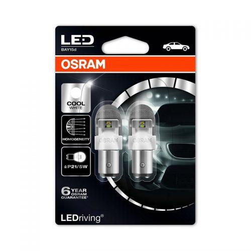 P21/5W  1557CW-02B 2W 12V BAY15D BLI2 by OSRAM