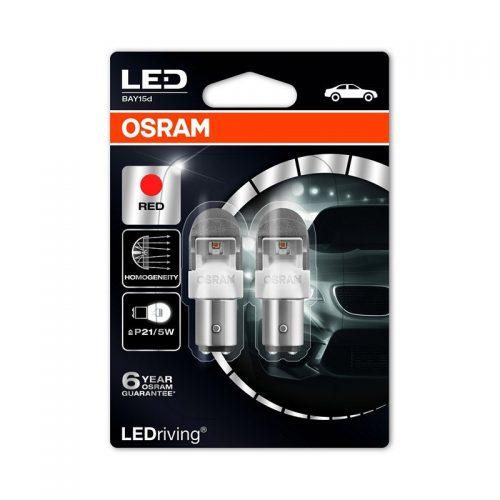 PR21/5W  1557R-02B 2W 12V BAY15D BLI2 by OSRAM