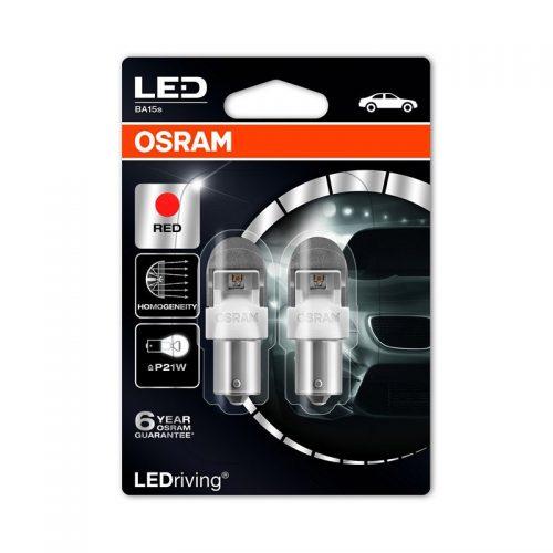 PR21W  7556R-02B 2W 12V BA15S BLI2 by OSRAM