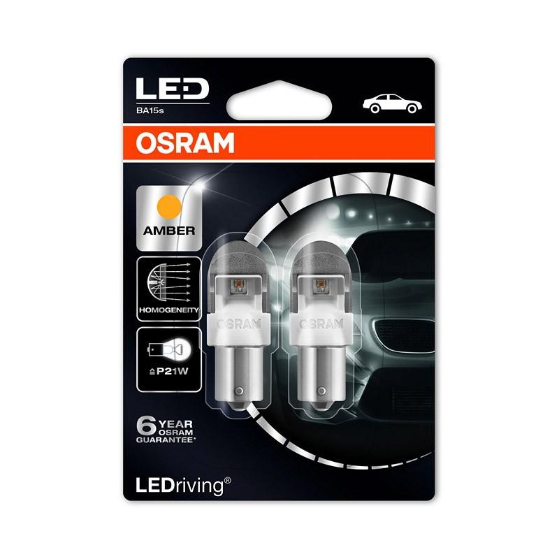 P21W  7556YE-02B 2W 12V BA15S BLI2 by OSRAM