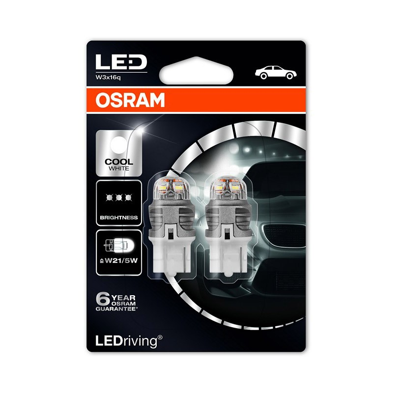 W21/5W (T20 DC)  7915CW-02B 3W 12V W3X16Q BLI2 by OSRAM