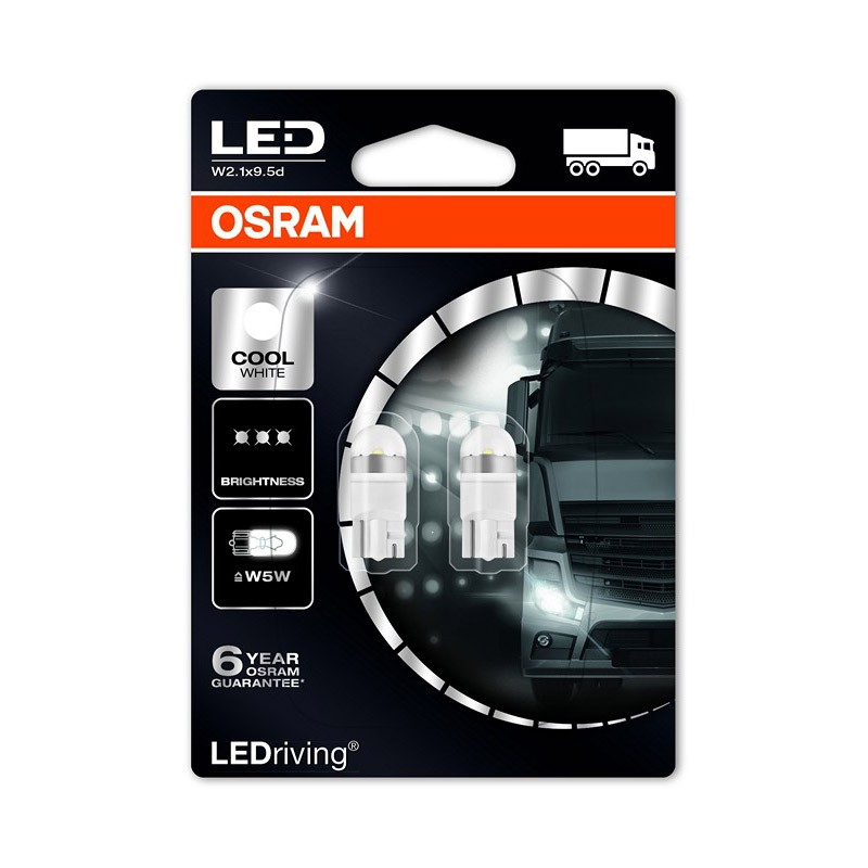W5W  2824CW-02B 24V W5W 6.000K NEW! by OSRAM