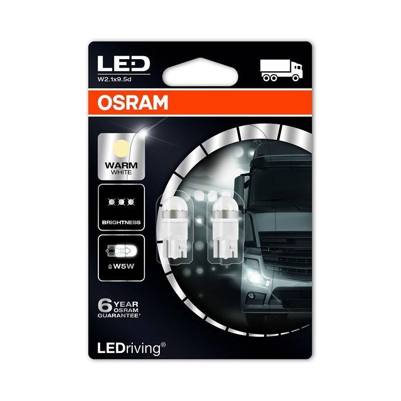 W5W  2824WW-02B 24V W5W 4.000K NEW! by OSRAM