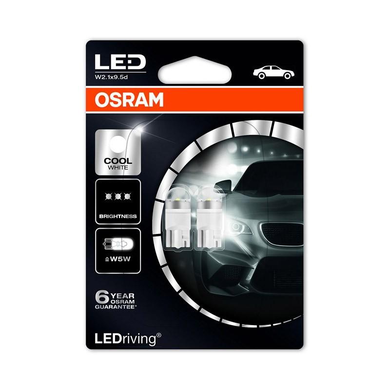 W5W  2850CW-02B 12V W5W 6.000K (M1) by OSRAM