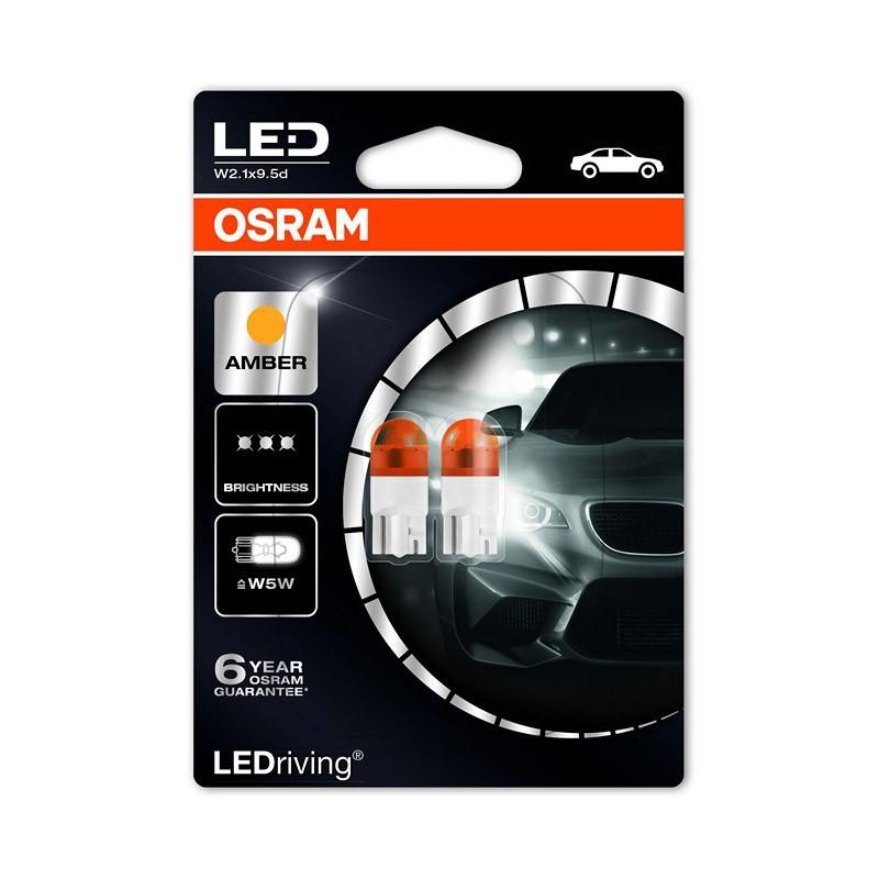 W5W  2855YE-02B 12V W5W YELLOW  2.000K by OSRAM