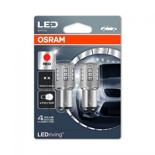 PR21/5W  1457R-02B 3W 12V BAY15D BLI2 by OSRAM