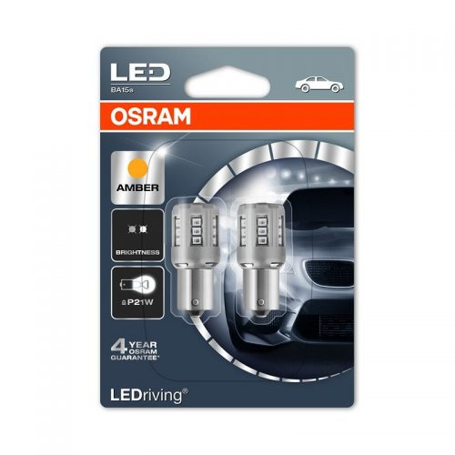 P21W  7456YE-02B 1W 12V BA15S BLI2 by OSRAM