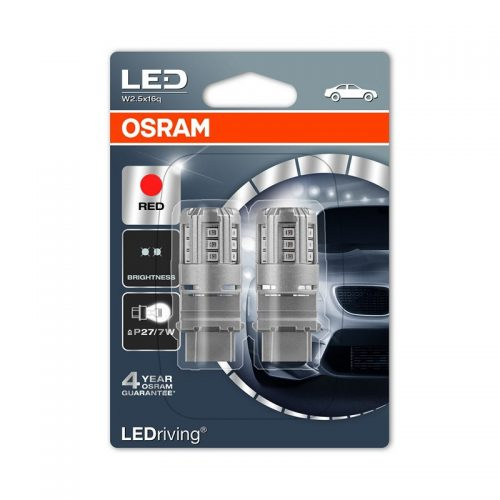 PR27/7W (S8W DC)  3547R 3W 12V W2.5X16Q BLI2DK by OSRAM